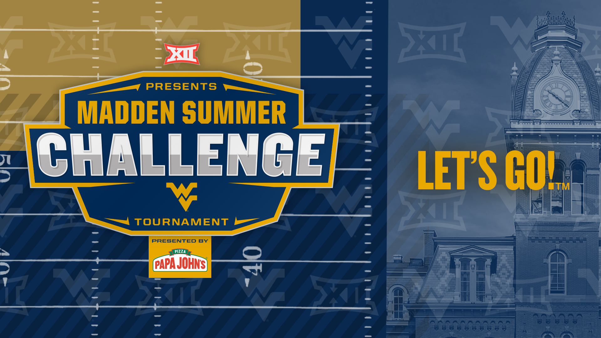 WVU: Big 12 Conference, Learfield IMG College Unveil First-Ever Madden NFL 20 Esports Competition for 10 Member Schools